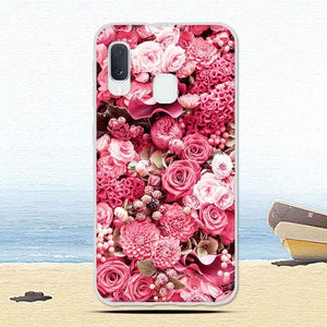 Luxury Cases For Samsung Galaxy A20E A20 E Soft TPU Silicone Floral Animal Patterned Protective Cover Phone Cases Shells Fundas