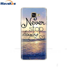 "Load image into Gallery viewer, Silicone Case For Samsung Galaxy A5 2017 2016 A520 A510 F Case 5.2"" Phone case For Fundas Samsung A 5 2017 2016 520 510 Coque"