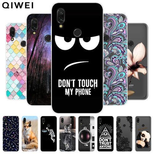 Redmi 7 Case For Xiaomi Redmi 7 Cover Soft TPU Cute Back Cover Fundas For Xiomi Redmi7 Silicone Phone Cases Hoesje Slim Coque