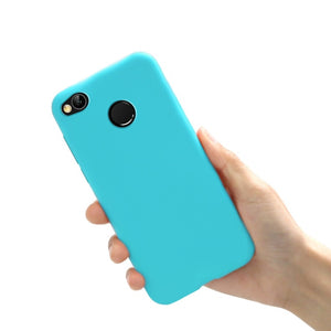 Case For Xiaomi Redmi 4x Case Matte Soft TPU Ultra Thin Slim Shockproof Cover For Redmi 4x Bumper On For Redmi 4x Silicone Case
