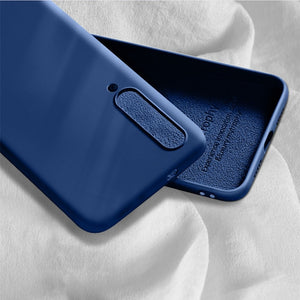 Liquid Silicone Case For Xiaomi Redmi Note 8 7 6 Pro 7A 6A K20 Slim Soft Cover Case For Mi 8 lite Mi 9t SE 6X Note 5A Case Cover
