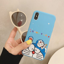 Load image into Gallery viewer, Soft Silicone Case For Etui iPhone 6 6S 7 8 Plus X XR XS Max 11 Pro Max 6.1 5.8 6.5 Soft Silicone Cat Phone Case Coque
