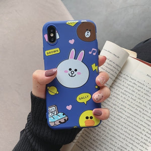Soft Silicone Case For Etui iPhone 6 6S 7 8 Plus X XR XS Max 11 Pro Max 6.1 5.8 6.5 Soft Silicone Cat Phone Case Coque