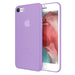 KISSCASE Shockproof Matte Phone Case For iPhone 7 XR XS MAX 6S Colorful PC Case For iPhone X XS 5 5s SE 6 6s 7 8 Plus Capa Funda