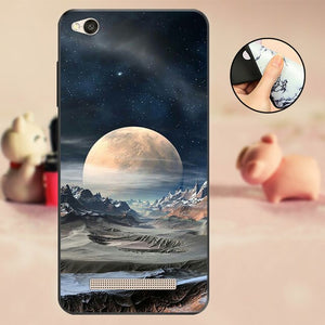 Soft TPU Phone Case For Xiaomi Redmi 4A Case Black Protector For Xiaomi Redmi 4A Cover for Xiomi Redmi 4A Bumper Case Fundas Capa