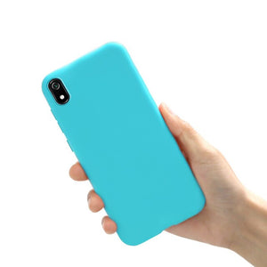 Case for Xiaomi Redmi 7A Case Cover Silicone Phone Case for Xiaomi Redmi 7A A7 Cover Case Candy Funda for Xiaomi Redmi 7A Coque