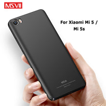 Load image into Gallery viewer, Xiaomi Mi 5 Case Cover Msvii Silm Frosted Cases For Xiaomi Mi 5S Mi5s Case Xiomi Mi5 PC Cover For Xiaomi Mi5 S M5 Cases 5.15""
