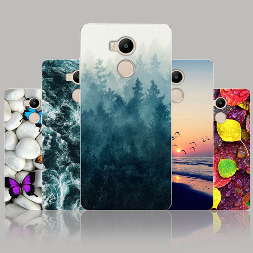 Case For Xiaomi Redmi 4 Pro Case Cover Silicone 5.0