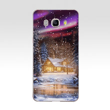 Load image into Gallery viewer, 24 ZX Christmas snow TPU Soft Silicone Case For Samsung Galaxy j3 J5 J7 2016 2017 Phone Cover Capa Capinha