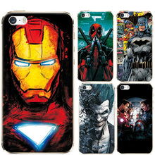 Load image into Gallery viewer, Phone Cases For Iphone 5 5S SE Soft TPU Super Charming Marvel Avengers Heroes Case Cover For Iphone 5 SE 5S Funda Novelty