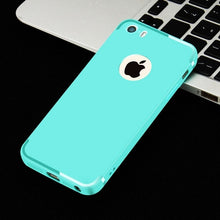 Load image into Gallery viewer, CAPSSICUM 5 5S SE Ultra-thin Soft matte case for iPhone 5 5S SE Cases TPU Flexible Slim Gel Back Cover Fashion High Quality