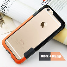 Load image into Gallery viewer, Bumper For iPhone 6 6s 7 8 plus X Soft TPU Frame Case Cover Slim Fundas For iPhone 7 8 Soft silicon bumper Multi Color