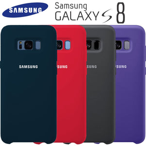 Samsung S8 Case Original High Quality Soft Silicone Protector Case Samsung Galaxy S8 Plus Case Galaxy S8 S8+ Silicon Back Cover