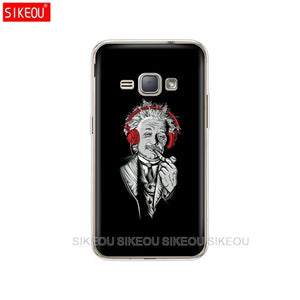 SIKEOU Soft TPU Case for Samsung Galaxy J1 2016 J120 J120F SM-J120F Cover silicone for samsung J 1 120 SM-J120FN SM J120H