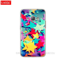 Load image into Gallery viewer, SIKEOU Soft TPU Case for Samsung Galaxy J1 2016 J120 J120F SM-J120F Cover silicone for samsung J 1 120 SM-J120FN SM J120H