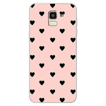 Load image into Gallery viewer, Couples Love Heart Pink Case For Samsung Galaxy S8 S9 Plus J4 J6 J8 2018 S7 Edge Note 9 Case Cover Soft Silicone Girl Men Case