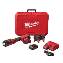 Load image into Gallery viewer, 2674-22C Milwaukee M18™ Short Throw Press Tool Kit with PEX Crimp Jaws