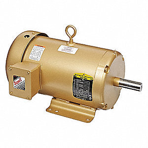Baldor Electric, EM3616T, 7.5HP, 3450RPM, 3PH, 460V;230V;208V, 184T Frame, Standard Flange, Foot Mount, TEFC, General Purpose Motor