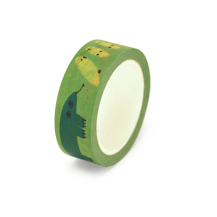 Lime No Slime Washi Tape