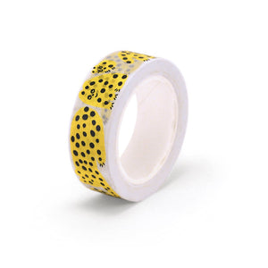 Yellow Leo Washi Tape