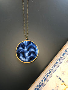 Shibori Detail Necklace