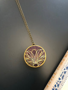 Floral rising 2 necklace