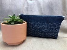Load image into Gallery viewer, Denim Zippered Bag