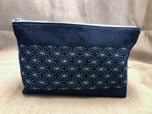 Load image into Gallery viewer, Denim Clutch Bag