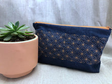 Load image into Gallery viewer, Linen Clutch Bag
