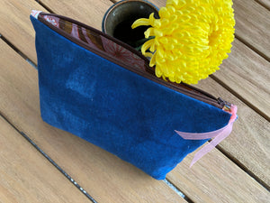 Shibori Zippered Bag