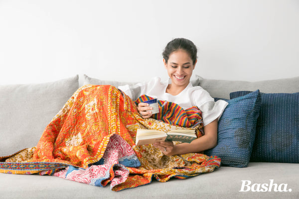 Kantha Throw Rugs- Small