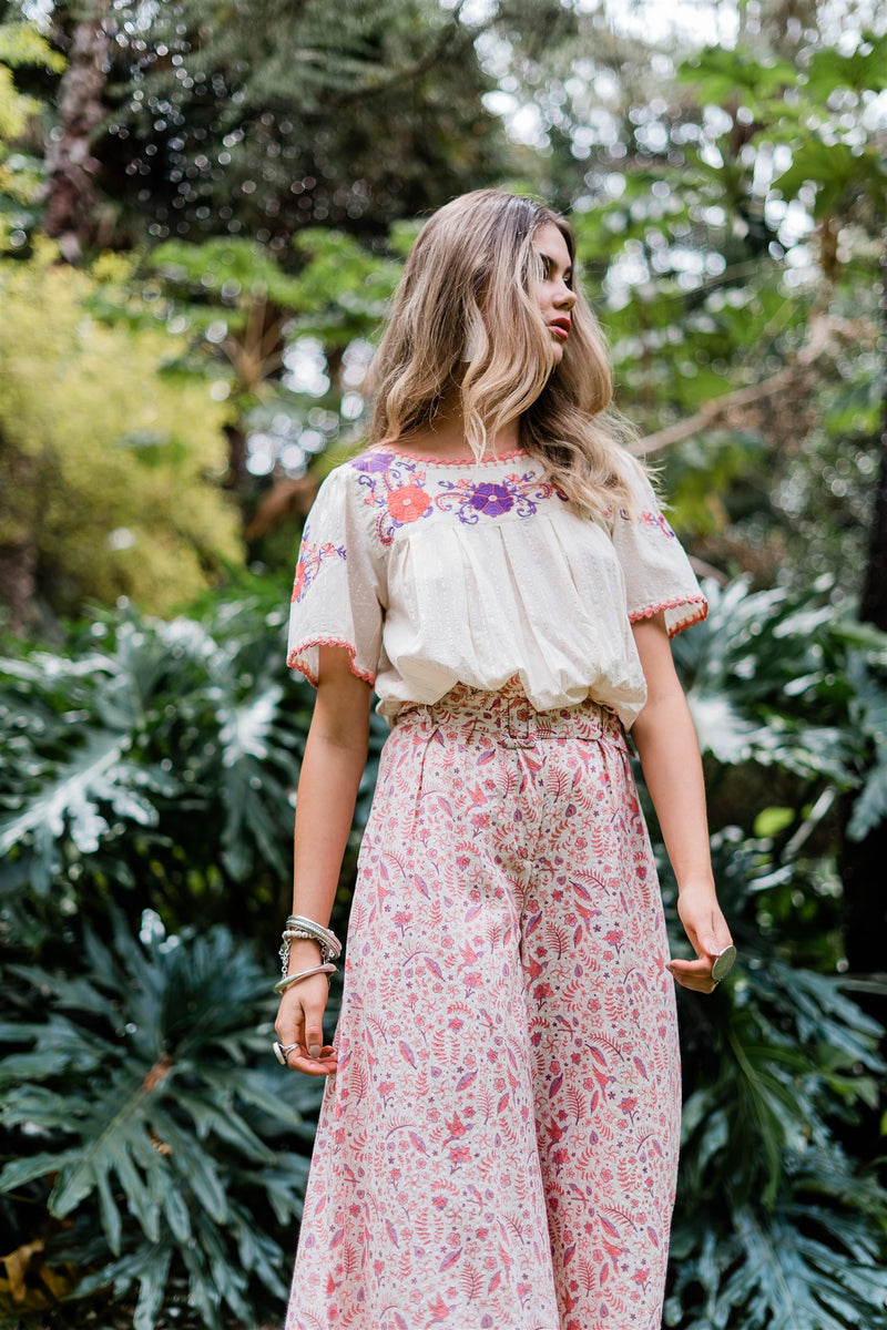 Isla Embroidered Blouse