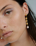 Dome Earrings - Gold