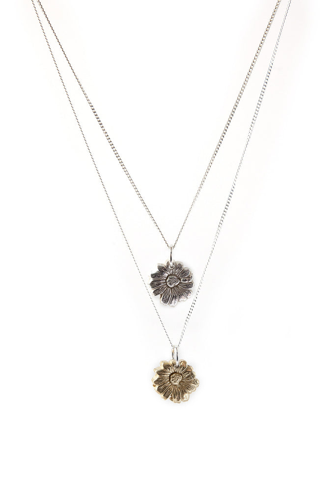 Daisy Necklace - Gold