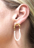 Mirror Earrings - Gold
