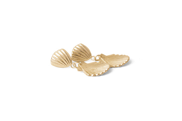 Birth Of Venus Earrings - Gold