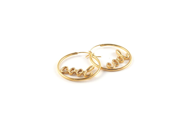 Cool Hoops - Gold