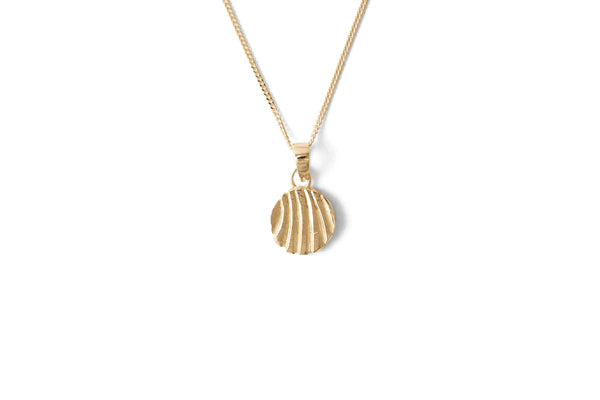 Curve Necklace - Gold