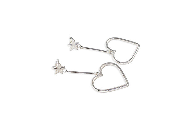 Frenchie Earrings Stars