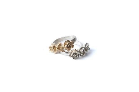 Garland Ring - Sterling Silver