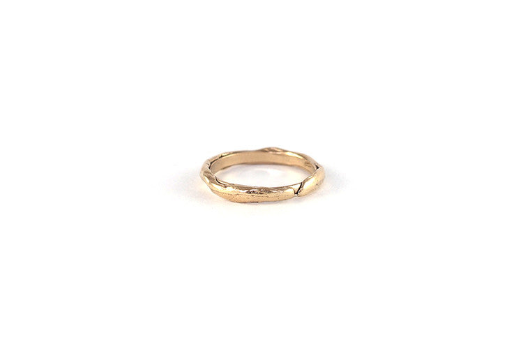 Squiggle Stacker - 9ct gold