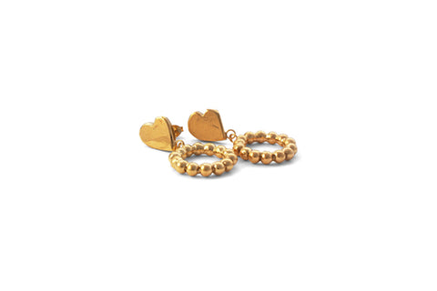 Jazz Earrings - Gold