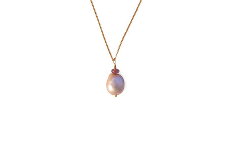 Peachy Necklace - Gold