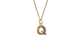 Letter Necklace - Gold