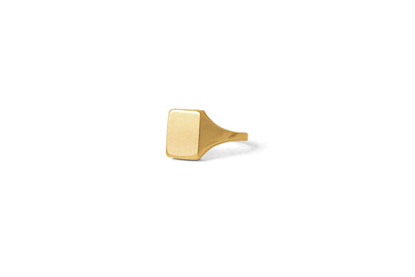 Rectangle Signet - Gold
