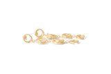 Scribble Earrings - Gold