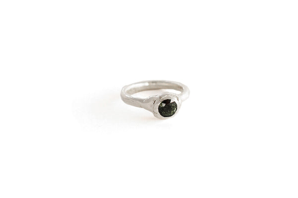 Molten Ring With Tourmaline