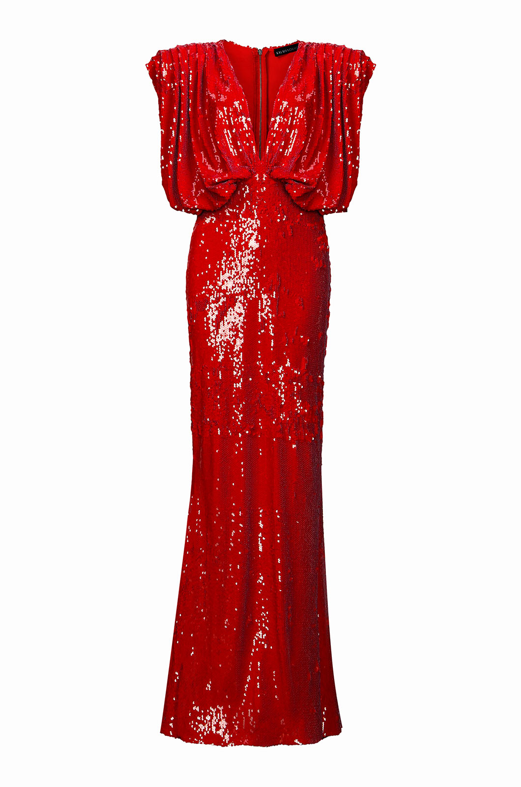 Sequin Red Gown