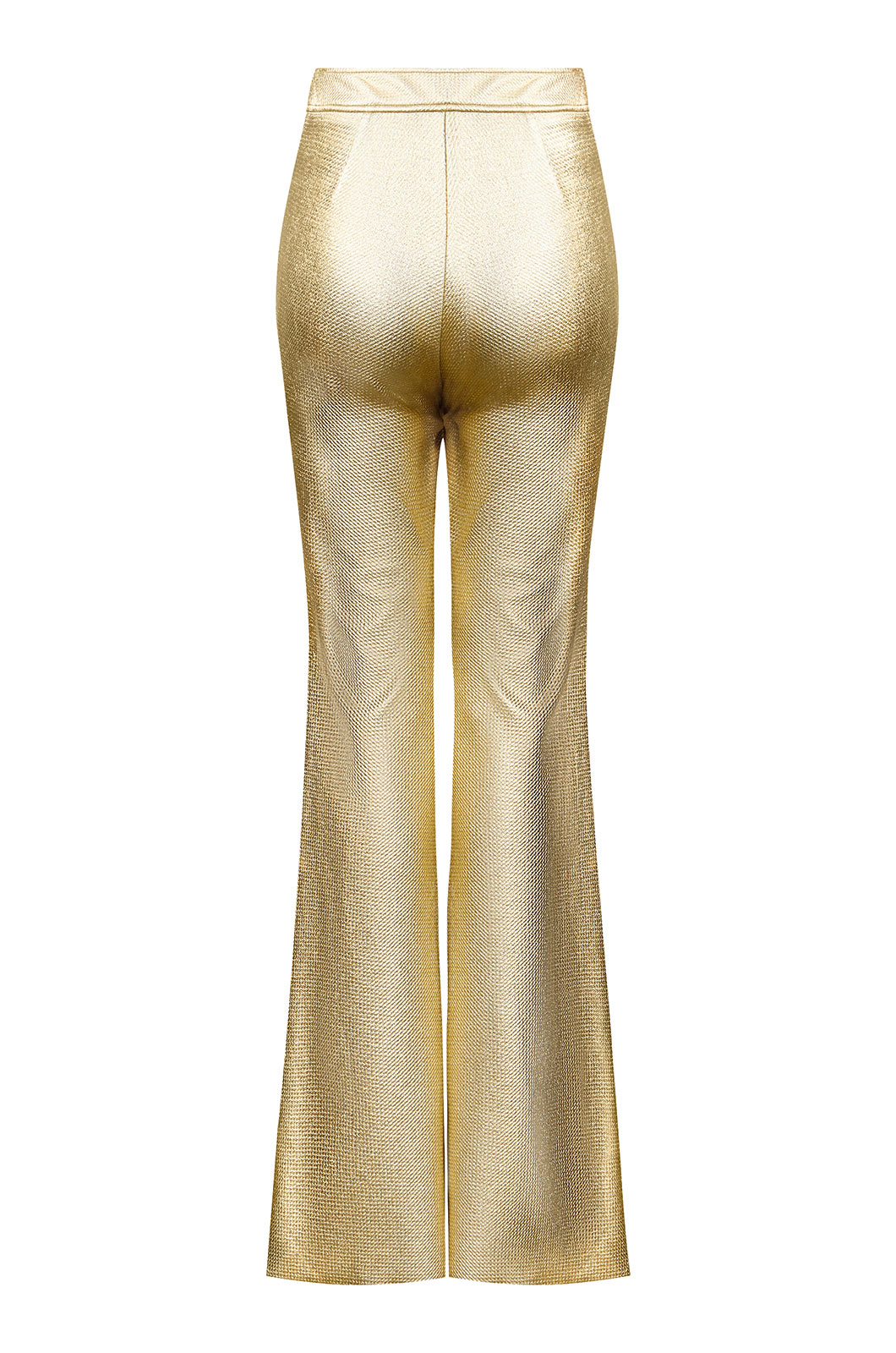 Gold Flare Pant