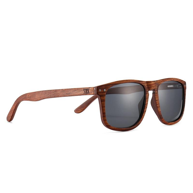 NOMAD- Ebony Rosewood Frame with Black Polarized Lens  - Adult - wholesale- (GST incl ) RRP $134.99